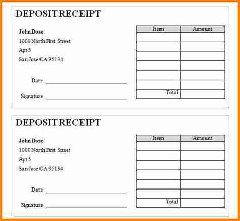 deposit slips template emmamcintyrephotographycom