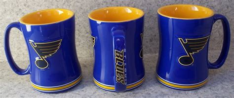 Includes the menu, user reviews, photos, and 2 dishes from coffee cup. Coffee Mug Sports NHL St Saint Louis Blues NEW 14 ounce cup with gift box | eBay