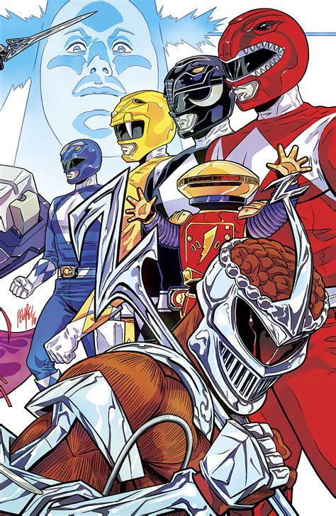NOV161267 - MIGHTY MORPHIN POWER RANGERS 2016 ANNUAL #1 ...