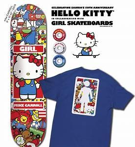 Hello Kitty Decke : hello kitty collaborates with girl skateboards fun stuff warehouse skateboards blog ~ Sanjose-hotels-ca.com Haus und Dekorationen