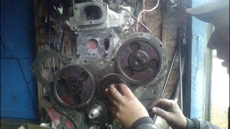bd 154 rebuild part 9 injector and timing gears