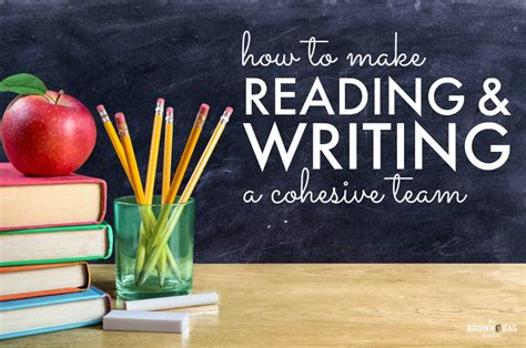1st Grade Writing Integrating Writing And Reading  The Brown Bag Teacher