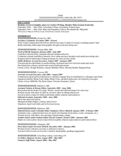 entry level resume sles resume prime