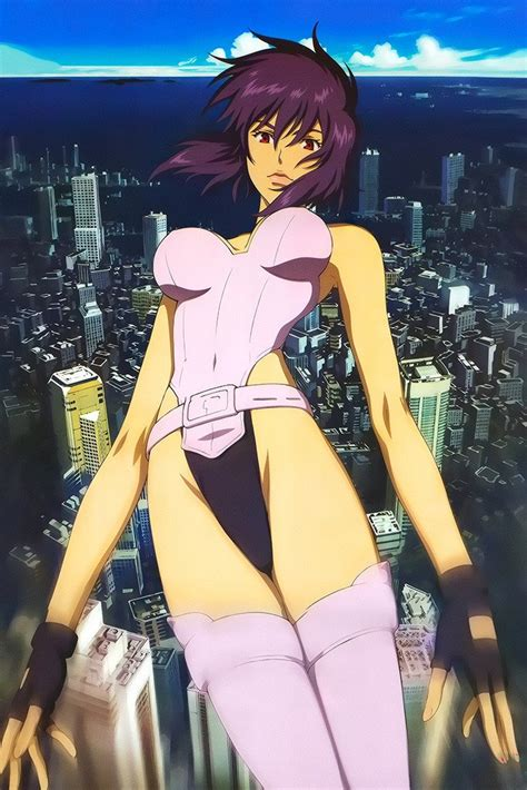ghost   shell cute anime girl poster  hot posters