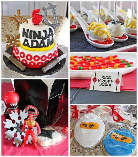 Karas Party Ideas Ninja Themed Birthday Party Ideas