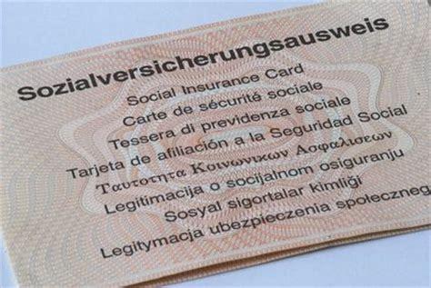 definition sozialversicherungsausweis der