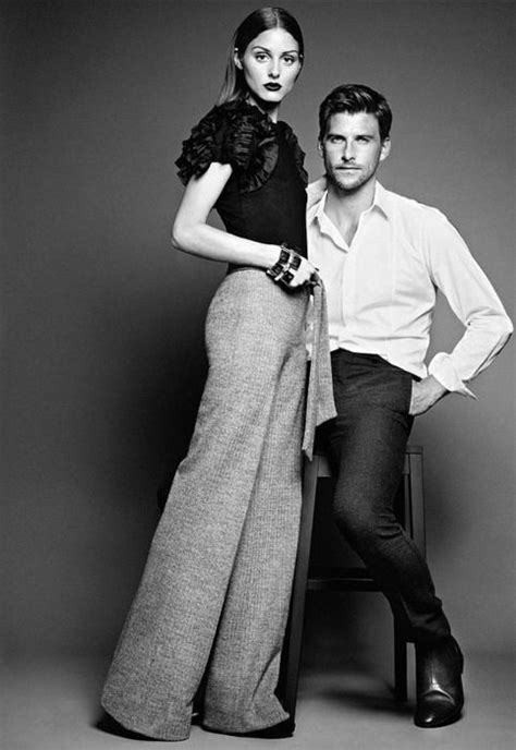 black white chic studio portrait couples modeling