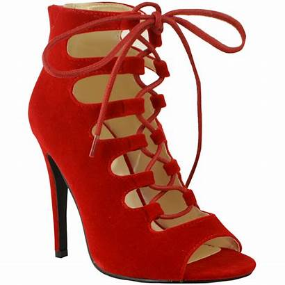 Heels Lace Heel Sandals Toe Stilettos Gladiator