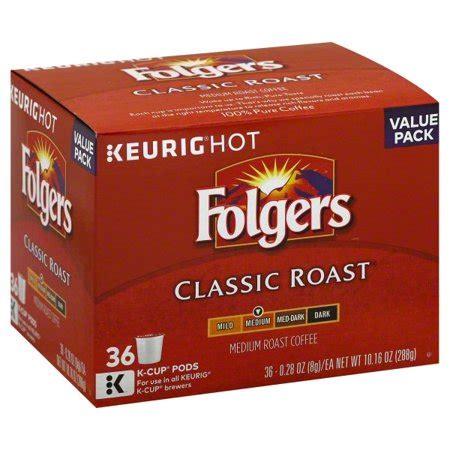 10 best decaf k cups reviewed. Folgers Classic Roast Coffee K-Cup Pods, Medium Roast, 36 Count - Walmart.com