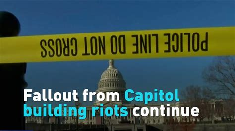 Fallout from Capitol building riots continues CGTN
