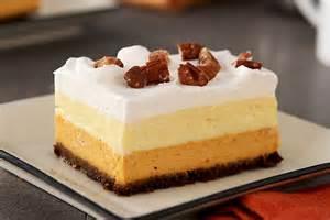 Healthy Pumpkin Dessert Bars layered pumpkin dessert bars kraft recipes