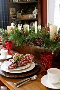 24, Inspiring, Rustic, Christmas, Table, Settings
