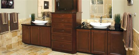 warm and inviting custom cabinets