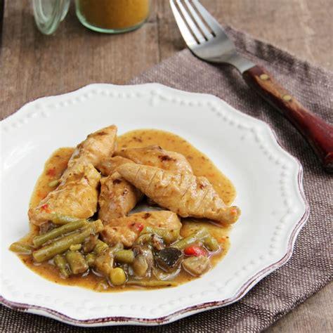 plat cuisiné regime plat cuisiné hyperprotéiné poulet curry pour régime