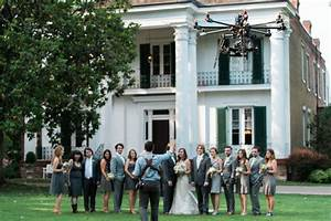 the new age of wedding photography use a drone With drone wedding pictures