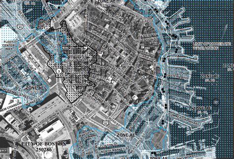 boston flood maps set   effect jlc