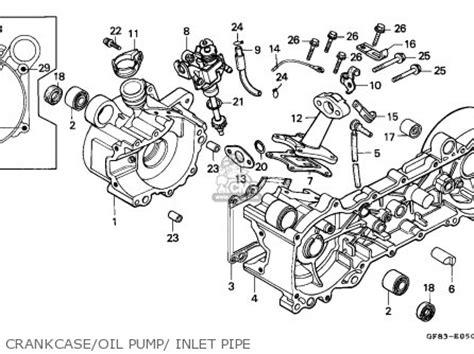 honda qr50 1991 australia parts list partsmanual partsfiche