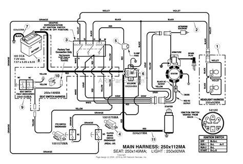 4 pole solenoid wiring diagram lawn tractor diagram