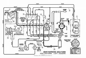 Murray 7800411 - Elt155420h  15 5hp 42 U0026quot  Hydro  2009  Parts Diagram For Electrical System