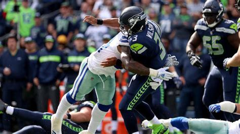 nfl wildcard games cowboys barely  seahawks  latest