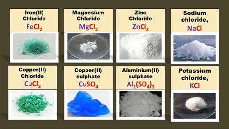 different types of salt ls chapter 8 salts