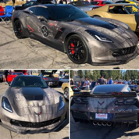 C7 'Jet Corvette' Is Obviously Prepared for Takeoff