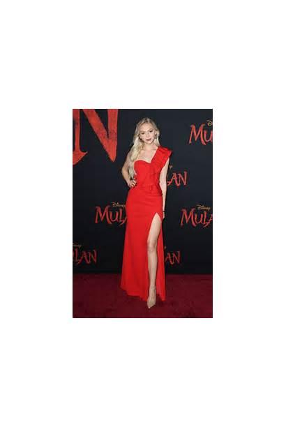 Jordyn Jones Mulan Premiere Hollywood Legs Disney