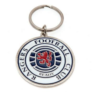 Rangers Crest Keyring by Rangers F.C. - Shop Online for ...