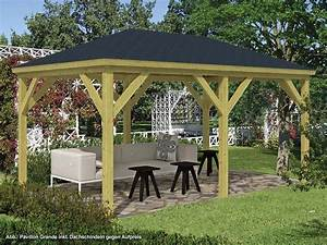 holzpavillon online kaufen garten holzprofi24 With französischer balkon mit garten holzpavillon