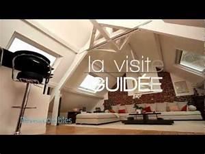 Appartement Sous Comble : visite d 39 un appartement normand sous combles youtube ~ Dallasstarsshop.com Idées de Décoration