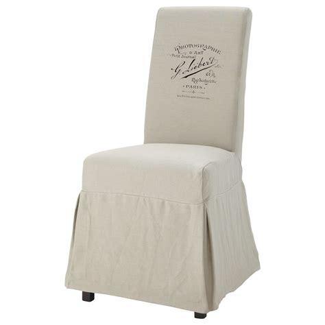 housse de chaise maison du monde housse de chaise margaux antan maisons du monde