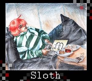 Sloth Sin Art