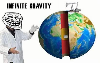 Science Gravity Infinite Troll Physics Meme Ohne