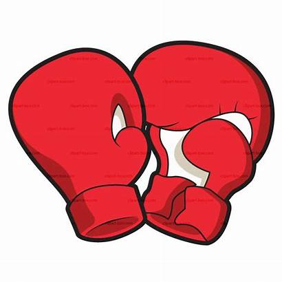 Boxing Gloves Clipart Clip Cartoon Fighting Cliparts