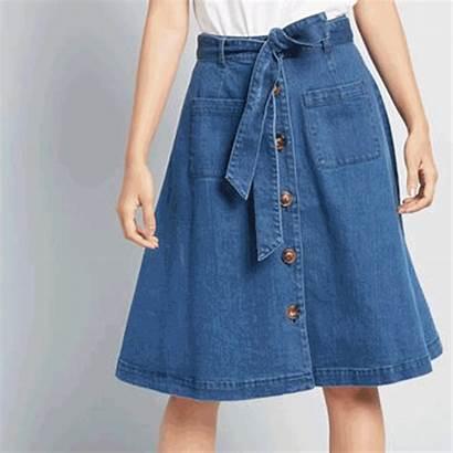 Types Skirts Fabrics Flannel Designing