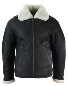 Peau De Mouton Veritable : manteau chaud homme peau de mouton retourn e v ritable mod le b3 original ebay ~ Teatrodelosmanantiales.com Idées de Décoration