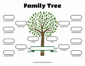 30 Free Printable Family Tree Template In 2020