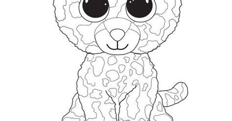 speckles  leopard ty beanie boo megans  birthday pinterest beanie boos ty beanie