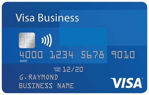 visa business credit card visa