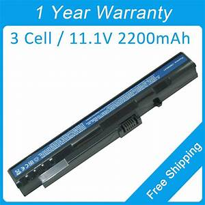 New 3 Cell Laptop Battery For Acer Aspire One D250 D210