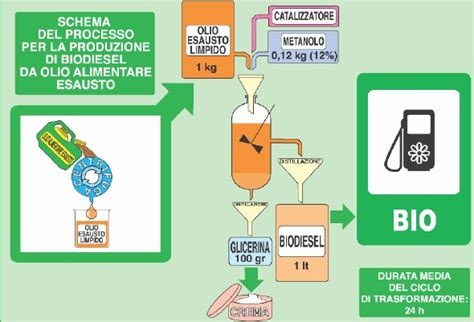 vas cer usati biodiesel da oli vegetali esausti sardegnarifiuti