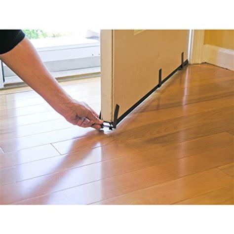 door draft stopper evelots 1 or 6 36 quot magnetic clip on door draft stopper