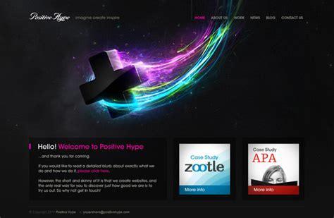 showcase  space inspired website designs hongkiat