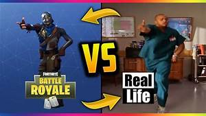 FORTNITE VS REAL LIFE YouTube