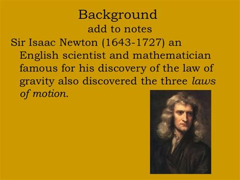 isaac newton 3 laws of motion essay