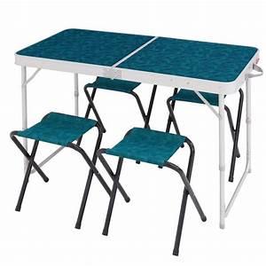 Table De Camping Gifi : table pliante 4 pers 4 si ges decathlon ~ Melissatoandfro.com Idées de Décoration