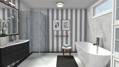 white tile bathroom designs modern black white bathroom with marble accents
