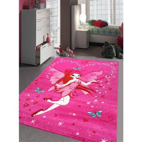 tapis chambre fille kids fee achat vente tapis cdiscount