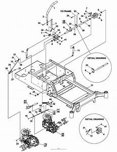 Bunton  Bobcat  Ryan 942295 Fastcat  48 Side Discharge Parts Diagram For Steering