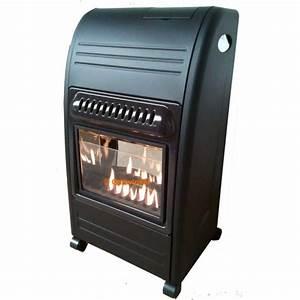 Poele A Gaz Avec Thermostat : chauffage au gaz design avec flammes apparente achat ~ Premium-room.com Idées de Décoration